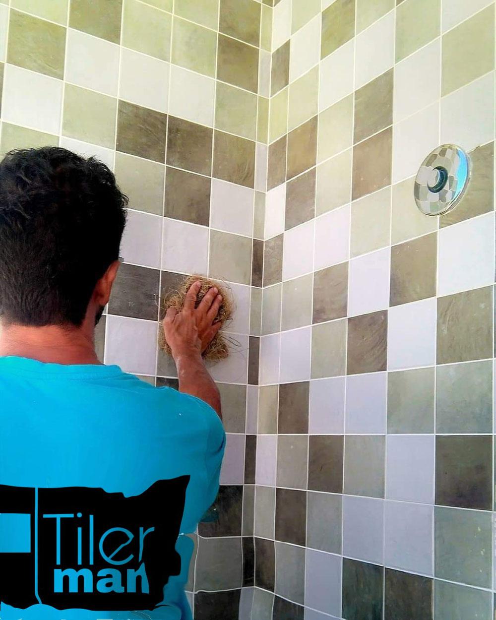 Azulejos 10x10 para las paredes de la ducha