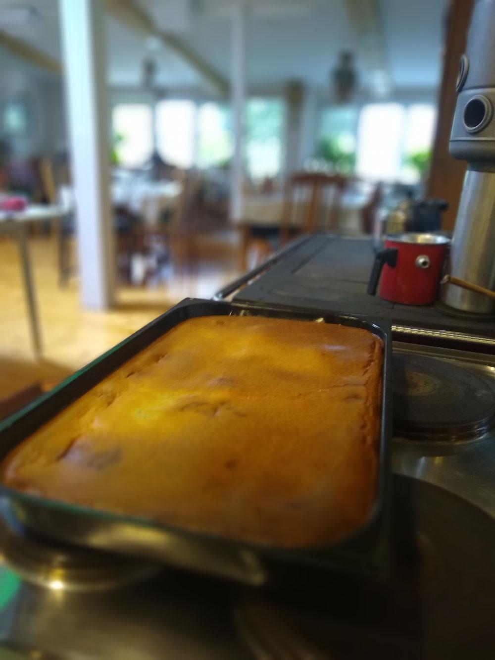 Der Mohnkuchen steht bereit...