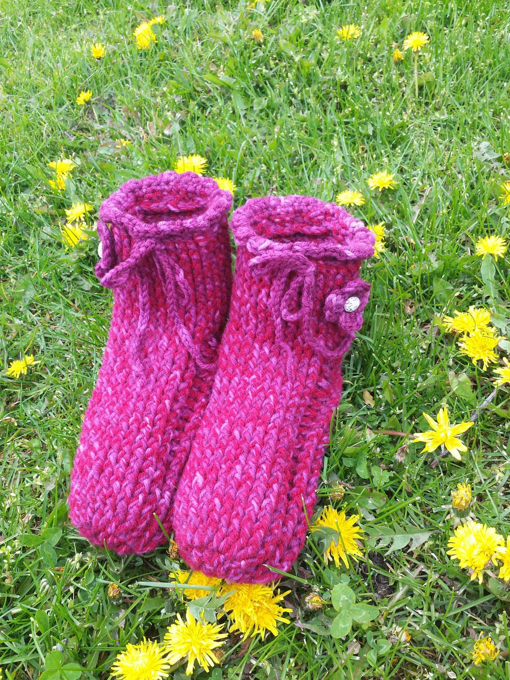 warme Füße auch im Frühjahr