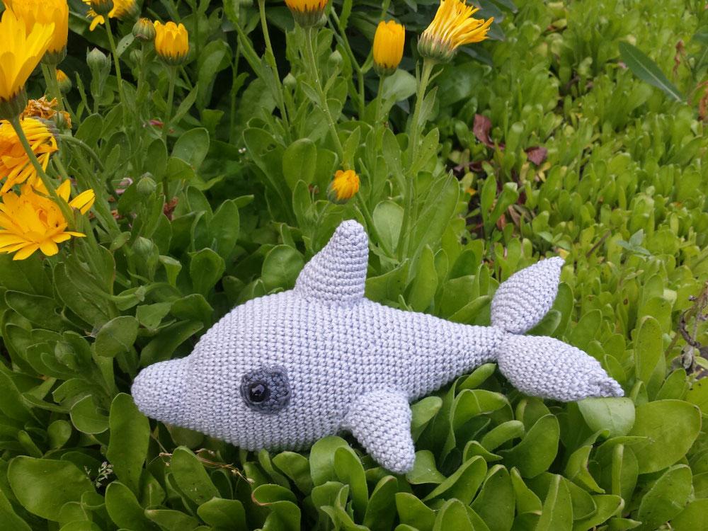 Fisch im Blumen Meer