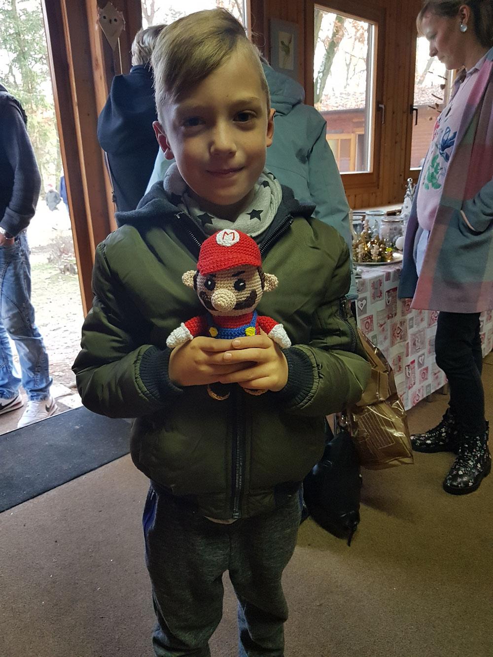 Super Mario gefällt Fin
