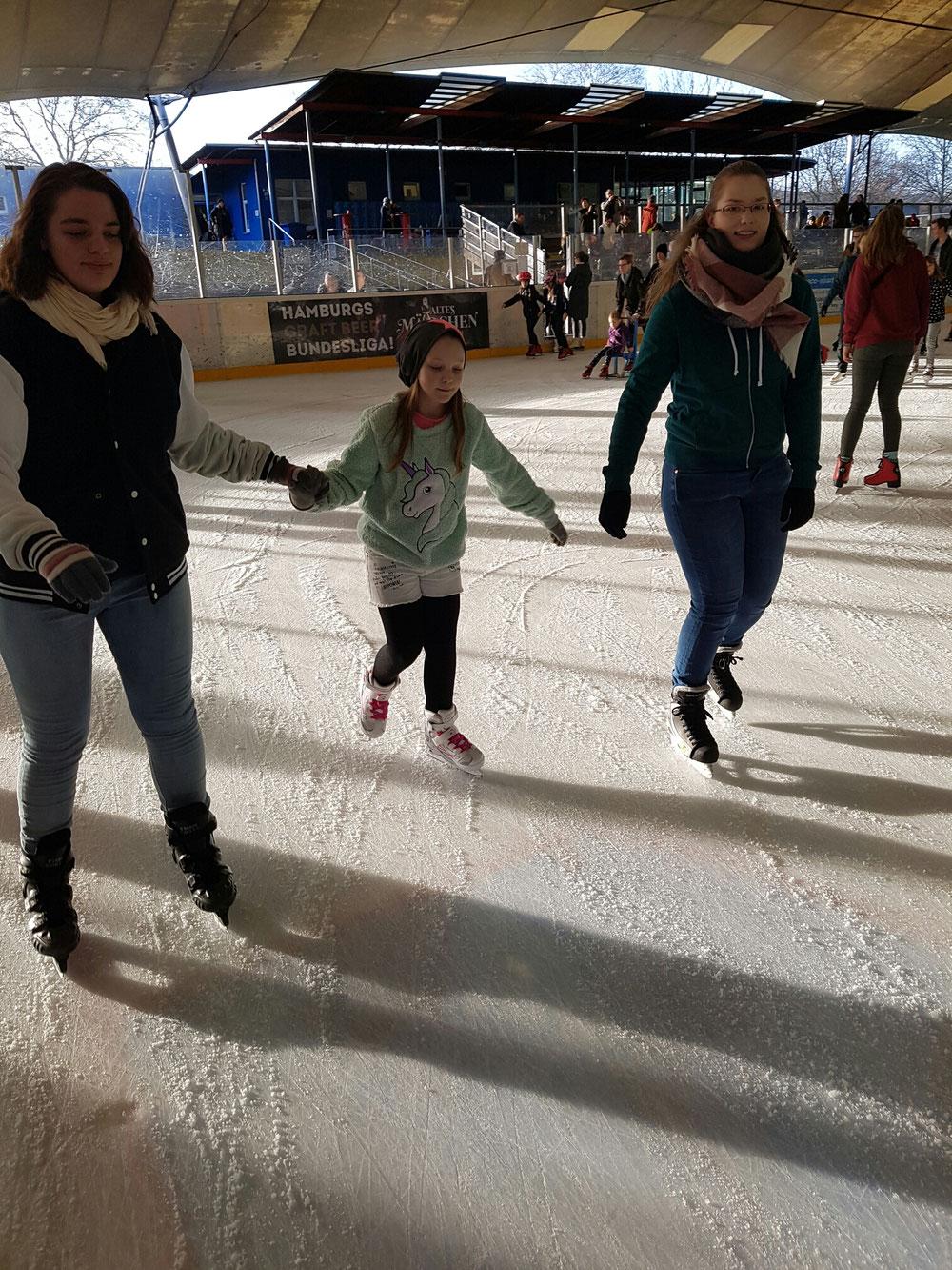 Eislaufen in Stellingen 17.02.2019