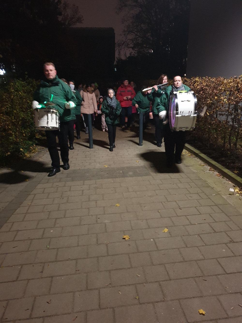 Laternenumzug in Othmarschen am 15.11.2019