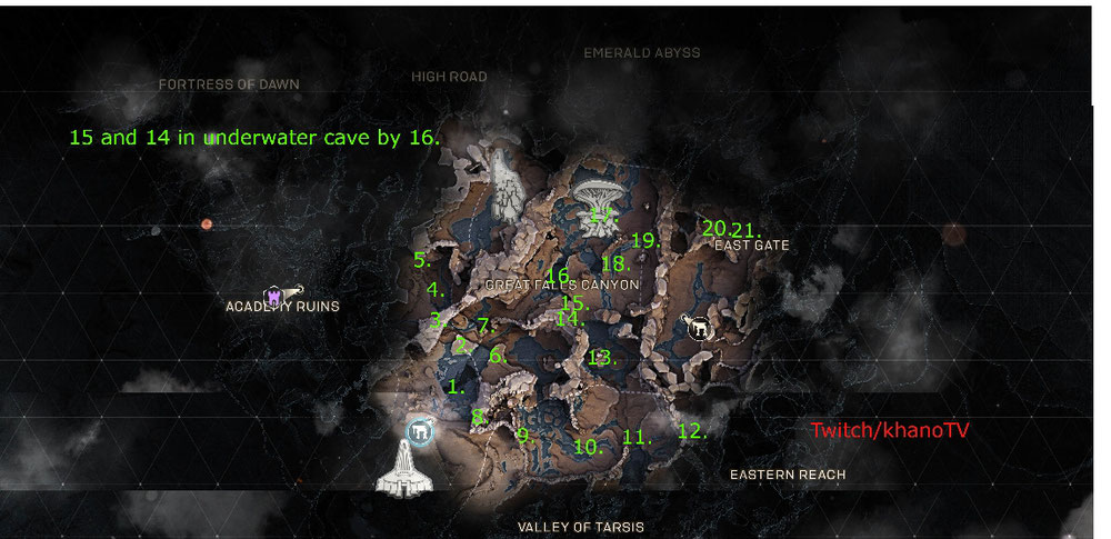 Chest spawn locations by gmkhano
