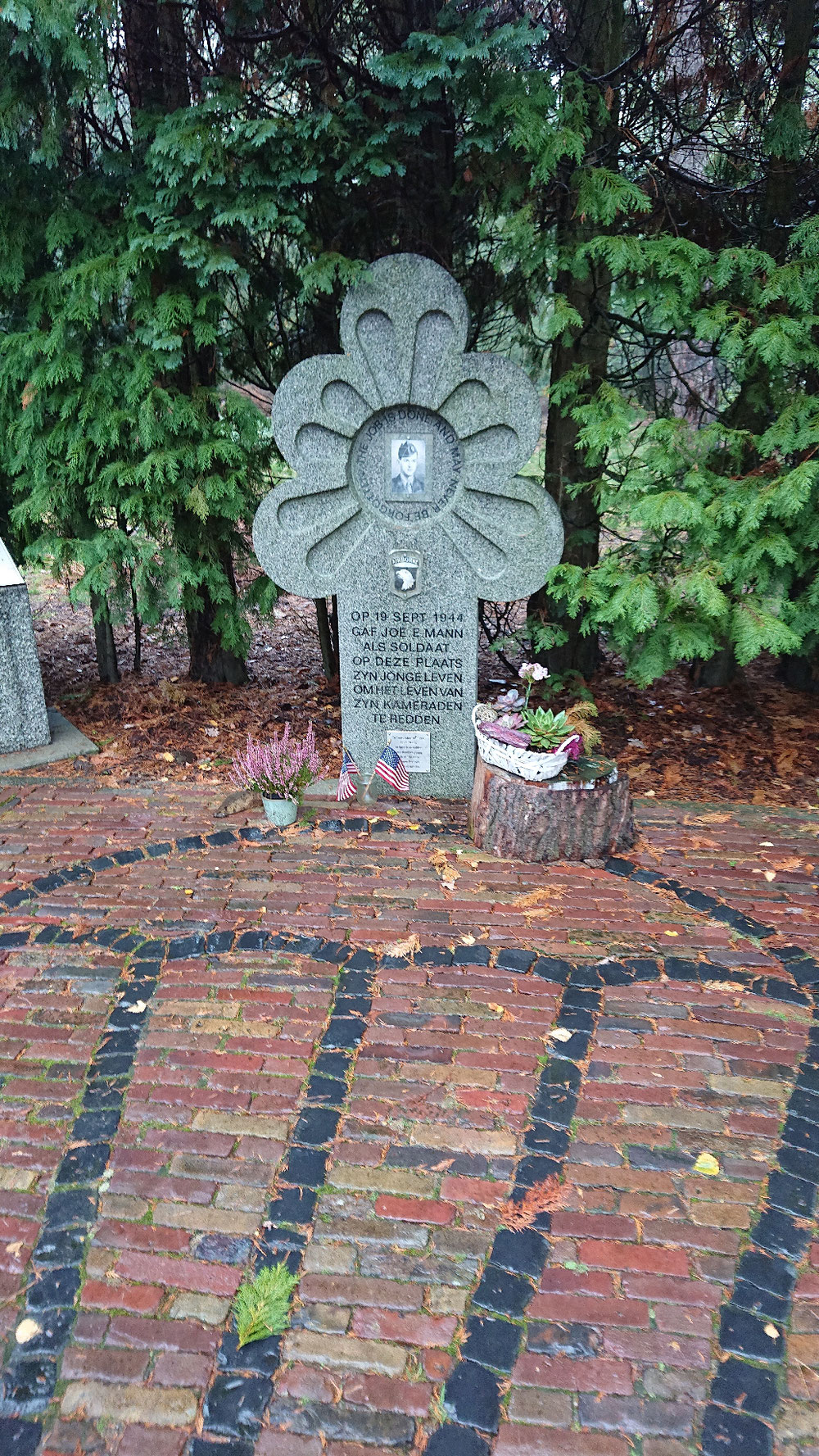 Joe Mann memorial