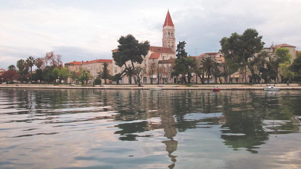 bigousteppes croatie trogir ville dalmatie