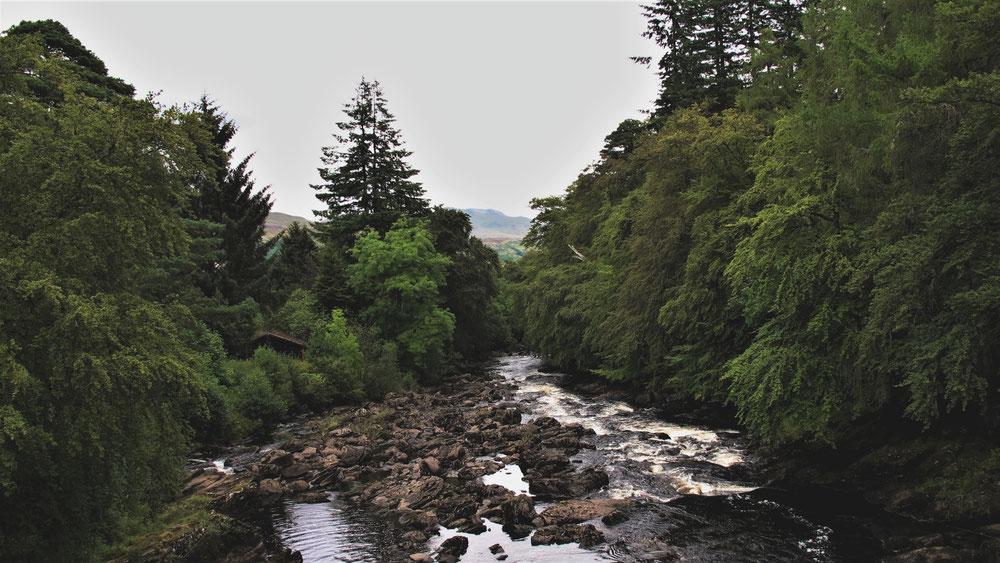 bigousteppes écosse cascade village