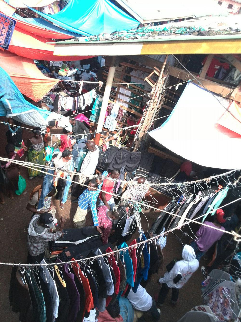 Mitten in Kampala: fast wie Marrakech