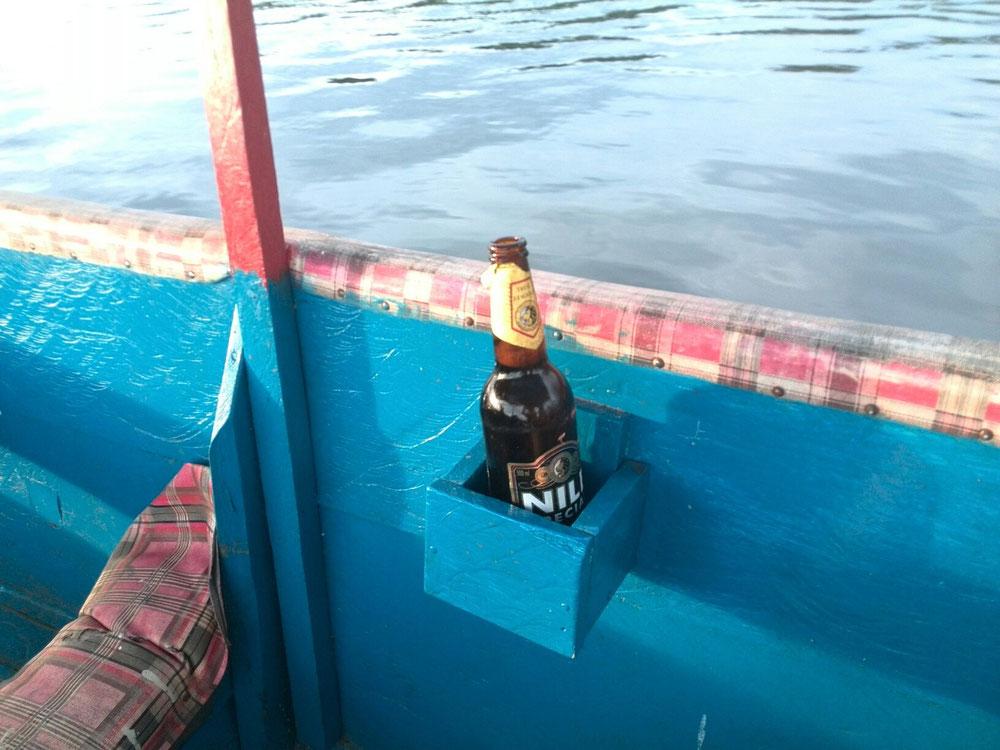Ein Nile auf dem Nile.