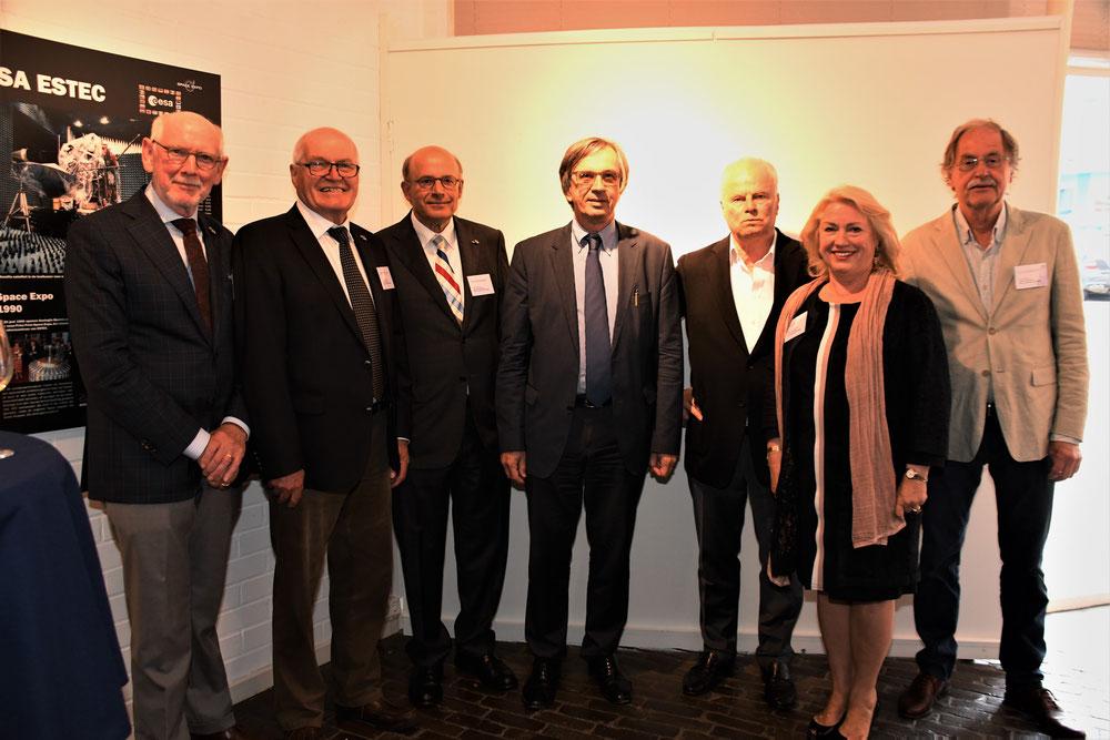 Bestuur Stichting Max Liebermann Noordwijk (bestuurslid Karel Ankerman ontbreekt op de foto)