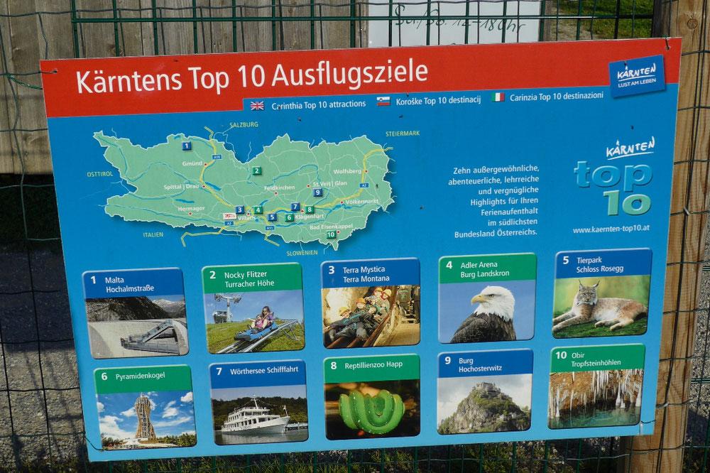 unter die 'TOP 10' haben's Tierpark und Labyrinth geschafft - zurecht!