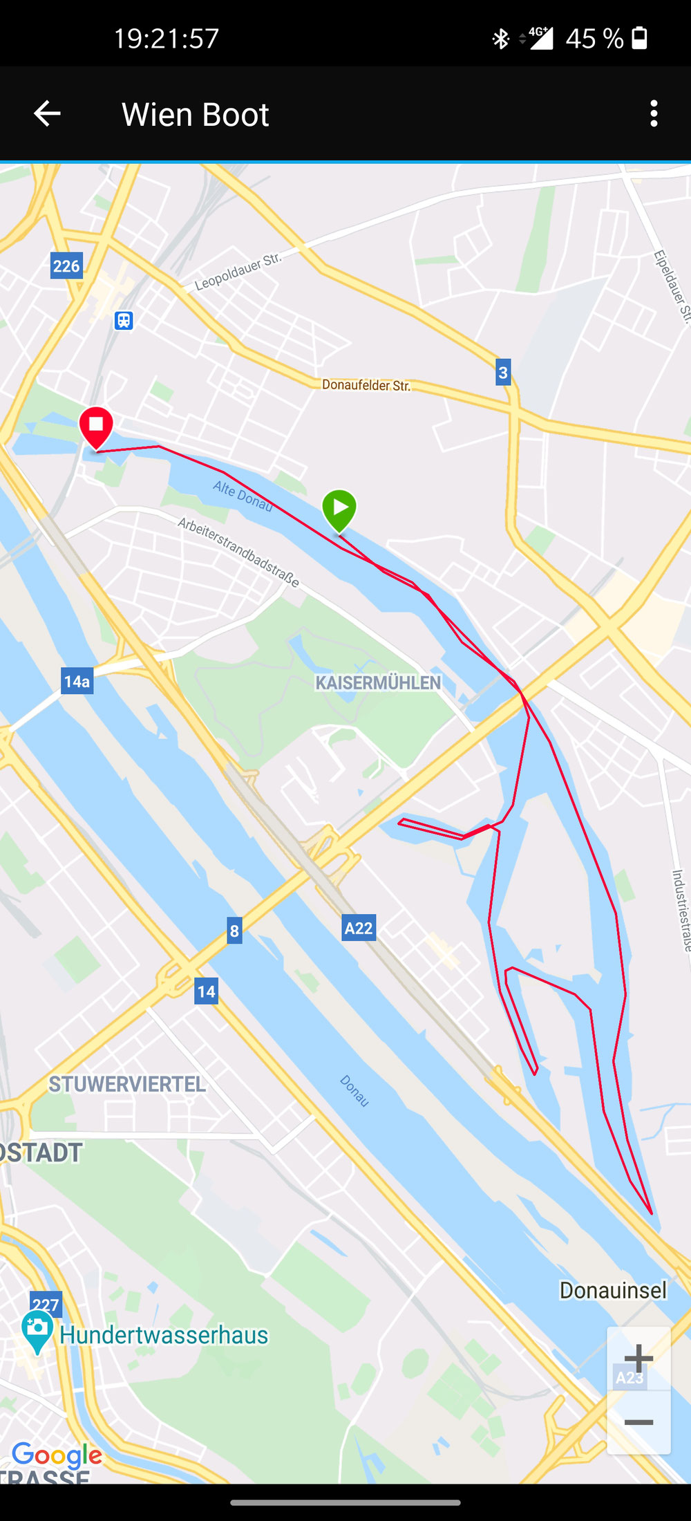 Alte Donau - voll abgefahren! 😁