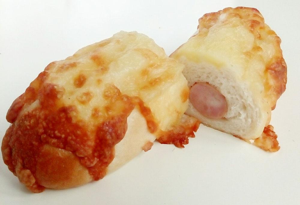 ハムチーズベーグル 260円