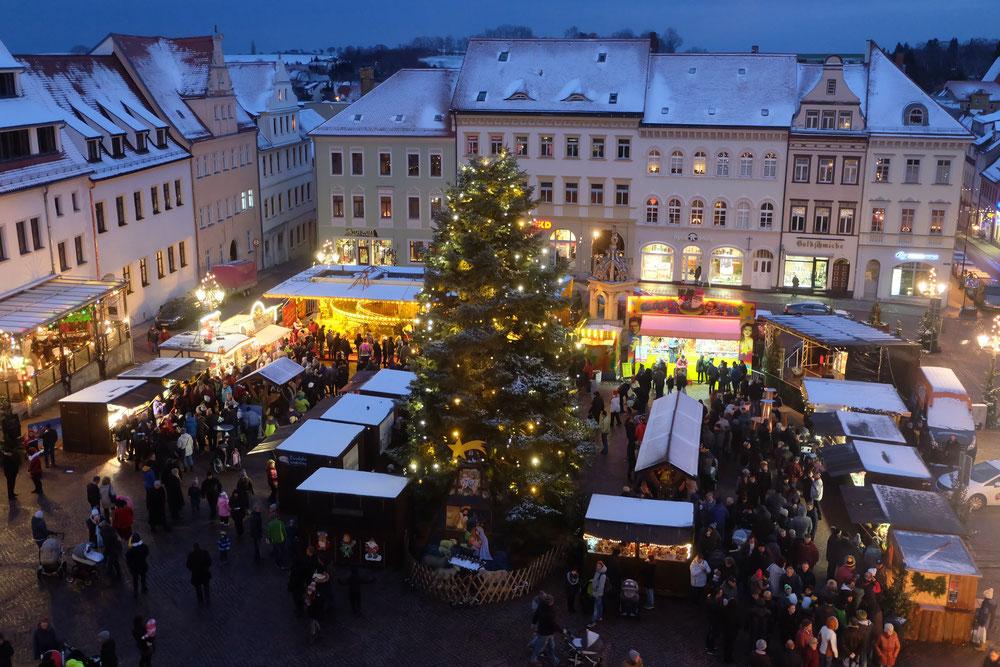 Weihnachtsmarkt Wie Lange Offen.Oschatzer Weihnachtsmarkt Vom 5 Bis 8 12 2019 Auf Dem Neumarkt