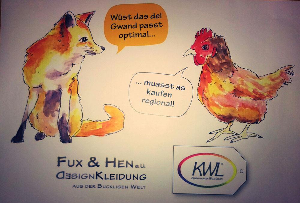 Fux & Hen und KWL freuen sich auf Ihren Besuch!