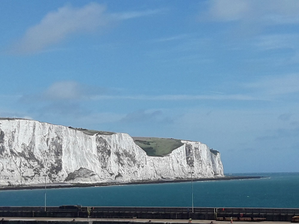 The White Cliffs of Dover!