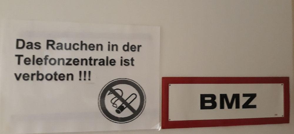 Detektei Onusseit Abt. ODS Sicherheit betreut Telefon,-Brandmeldezentralen