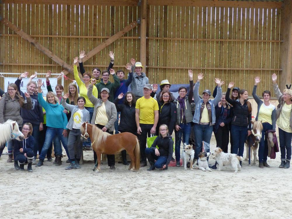 les participants aux JEM 2016