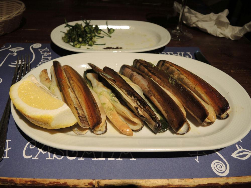 Santiago ist ein Paradies für Meeresfrüchte Liebhaber