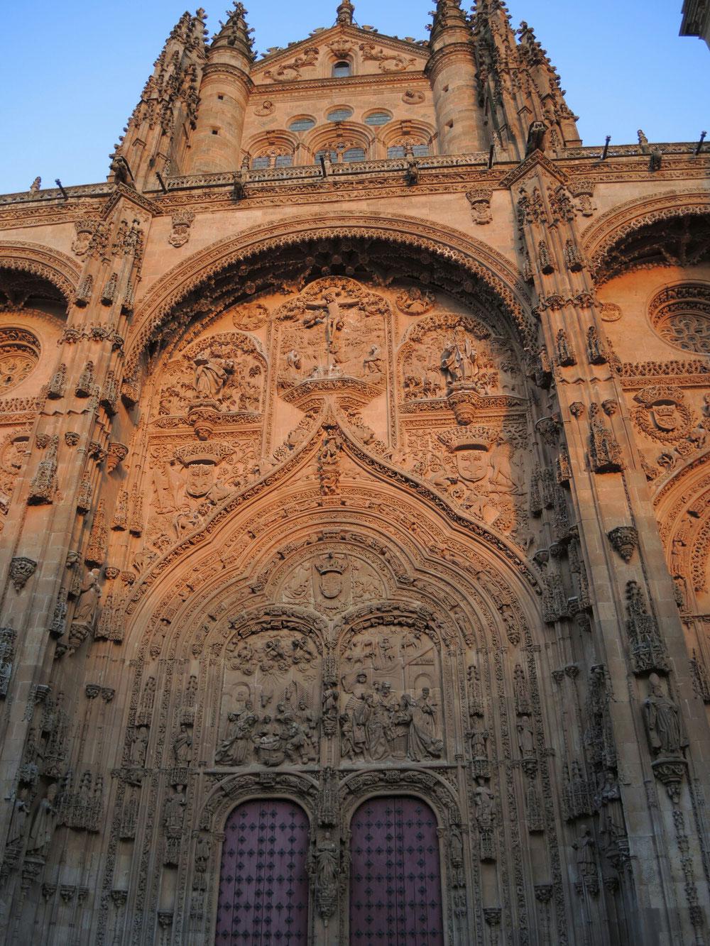 Die sakrale Architektur in Salamanca ist beeindruckend