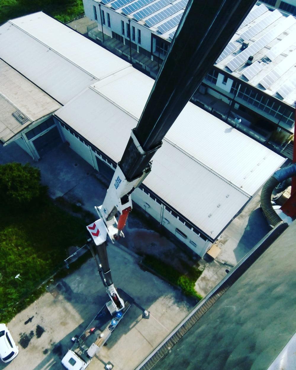 Piattaforma aerea 46 metri Gambettola