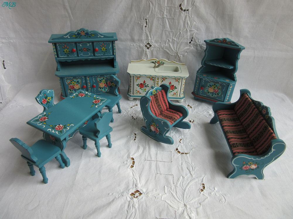 mobilier salon de poupée