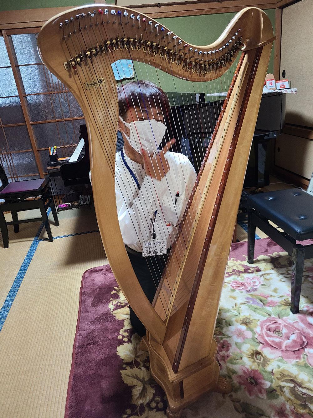 諫早ピアノハープ教室 ラジオ出演