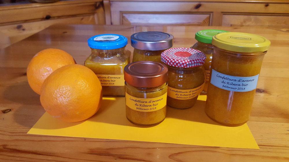 Marmellata di Arance, preparata dalla signora Milena Moschin con le AranceOk