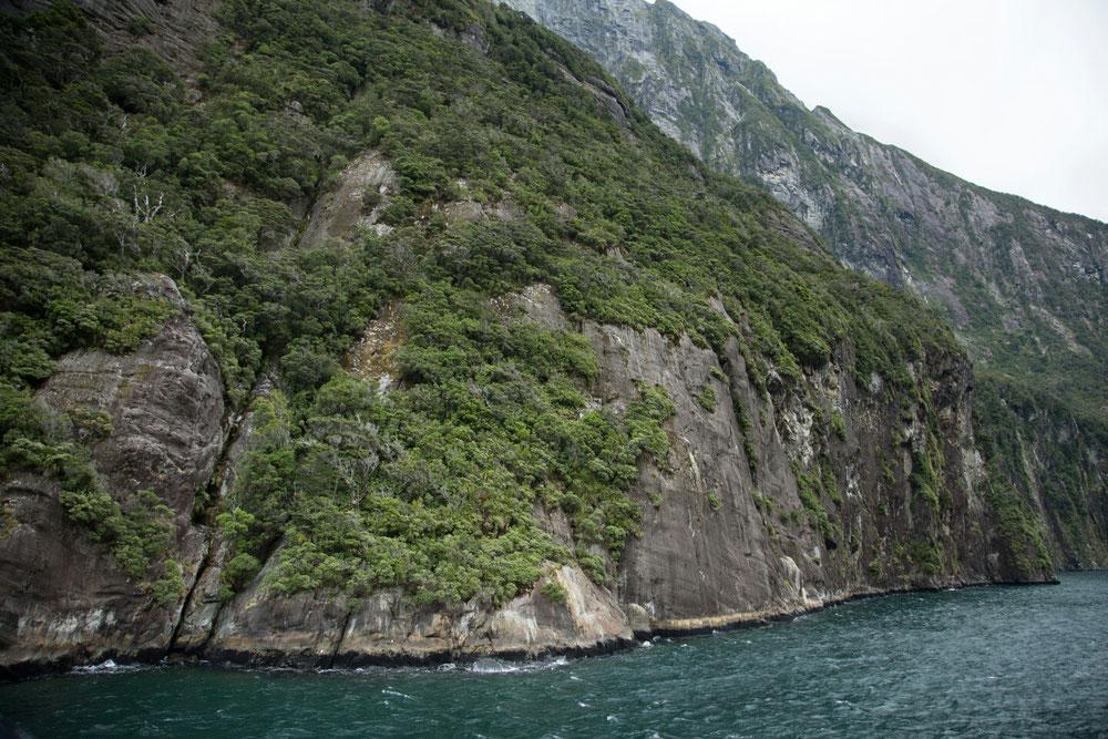 Die Fahrt durch die Fjorde war unglaublich ...
