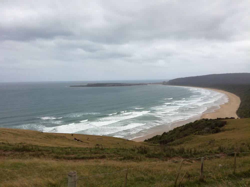 Nochmal schönen Ausguck auf die Küste...