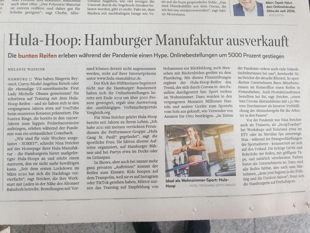 Hamburger Abendblatt v.26.3.21
