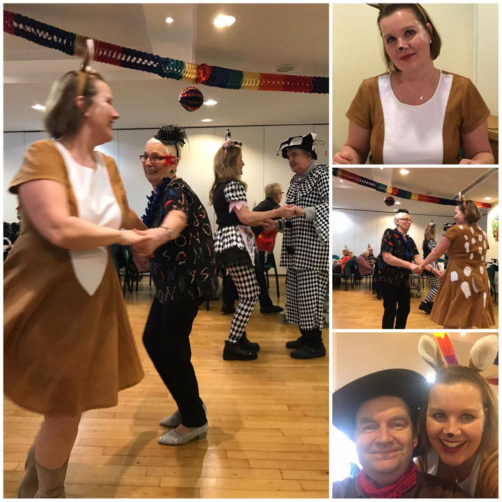 Tanztee zu Karneval mit Claudia Groß