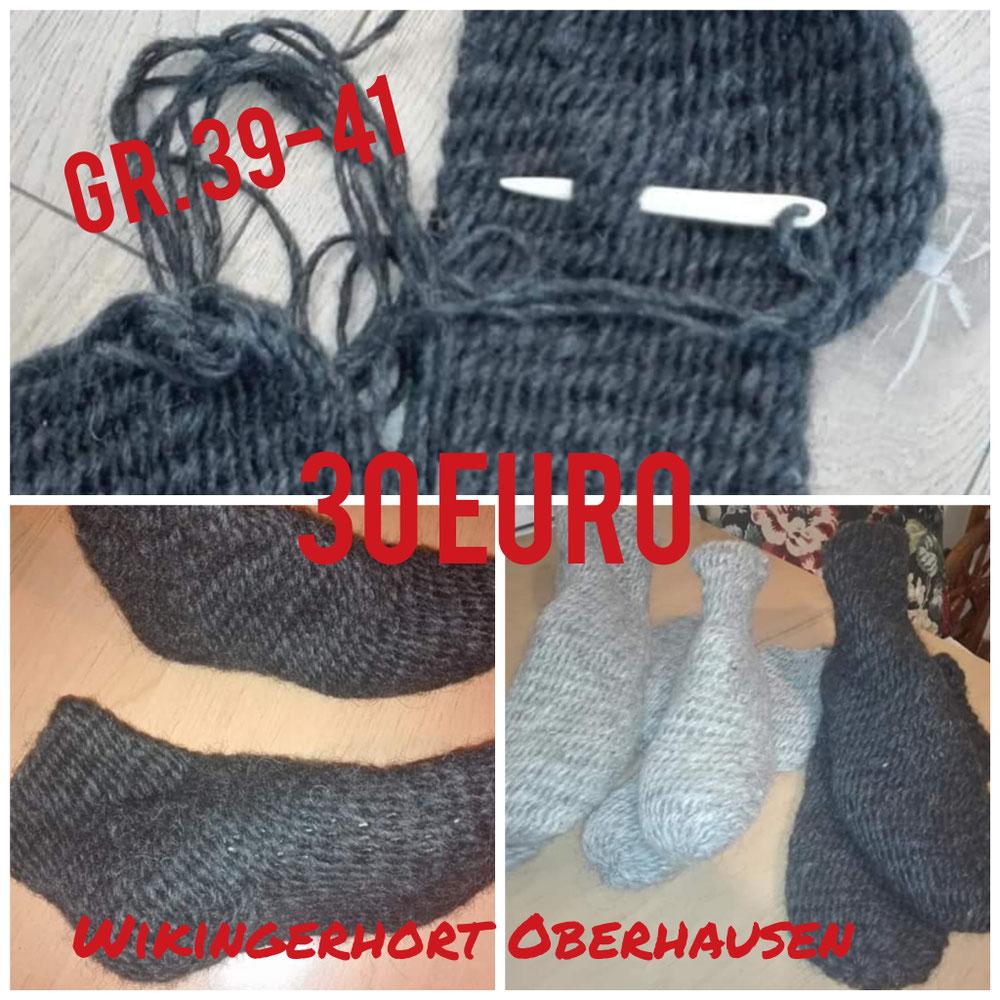 Nadelgebundene Socken, Gr. 39-41, 30 Euro