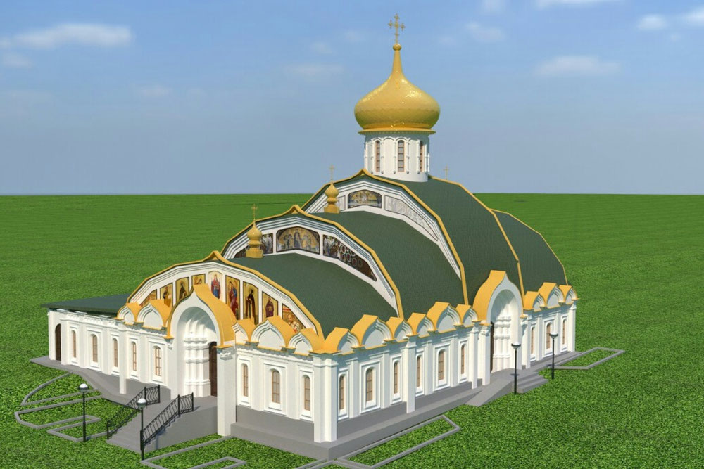 Реконструкция храма.