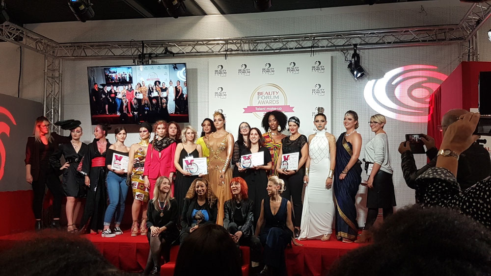 Voici toutes les maquilleuses, modèles et jury