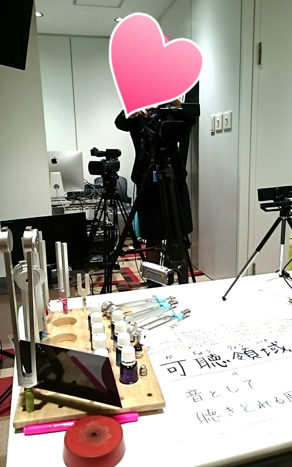 撮影の裏側