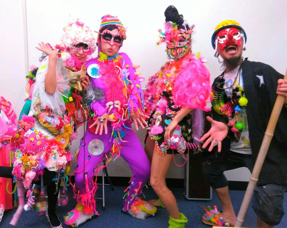 「表町TV 」に美咲芸術世界チーム「アマンジャク」で出演しました。「表町TV 」で検索してご覧ください!