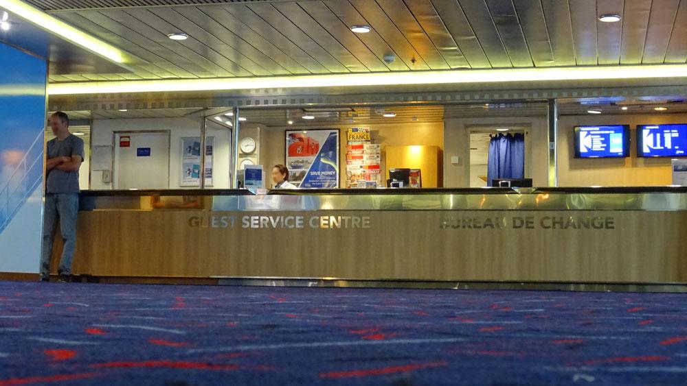 Vue du Guest Service Centre situé au Pont 7. Photo Antoine H.