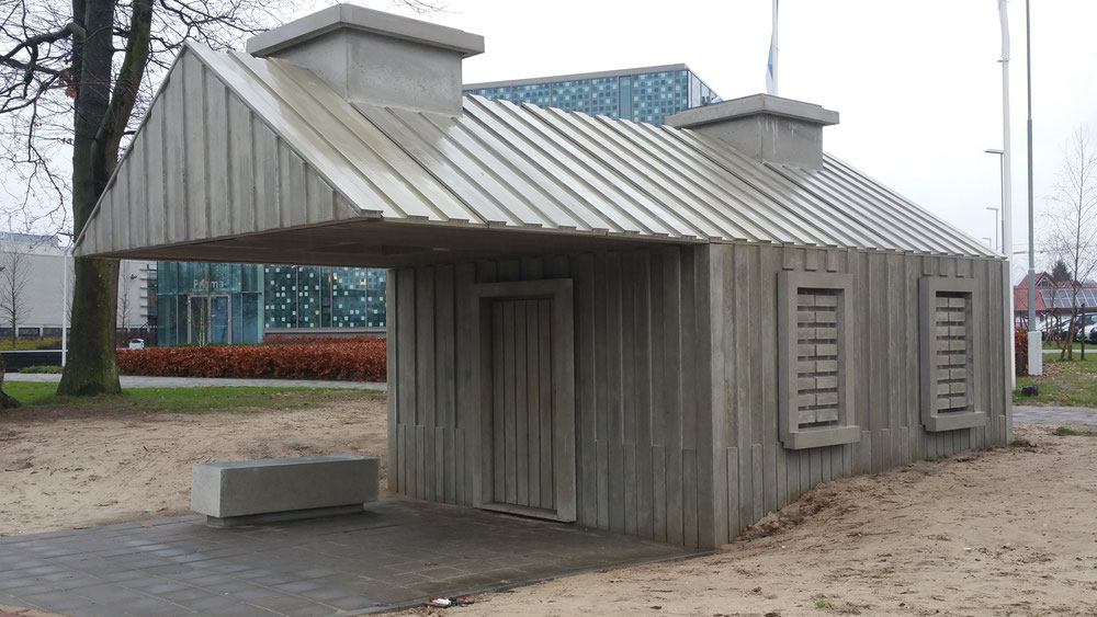 Beton, grijs beton, betonnen huisje, ede, amsterdam, hoofddorp, beton kunst, beton design. beton amsterdam, beton haarlem, beton hoofddorp