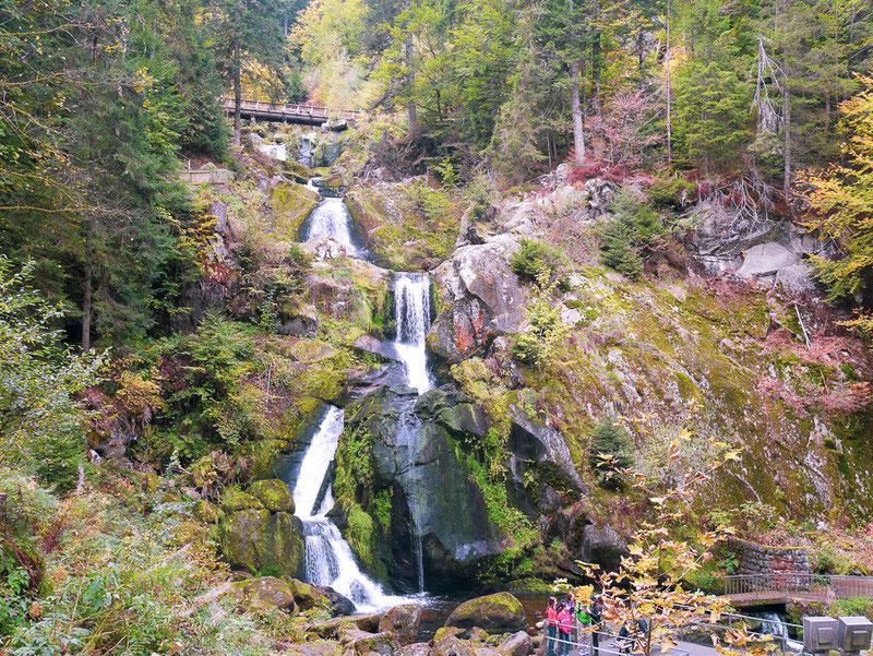 Triberg, Wasserfall, Schwarzwald, Ausflug, Natur