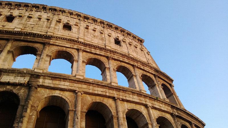 Colosseum, Rom, Italien, Bella Italia, Ruinen