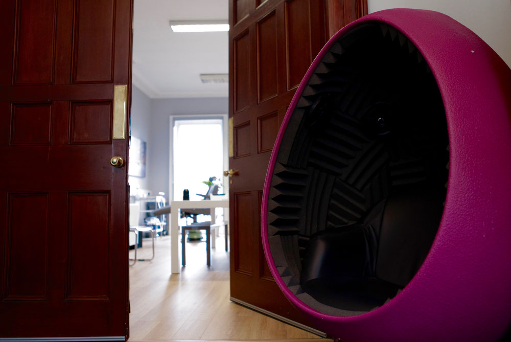 Liverpool Hearing Centre Egg Chair