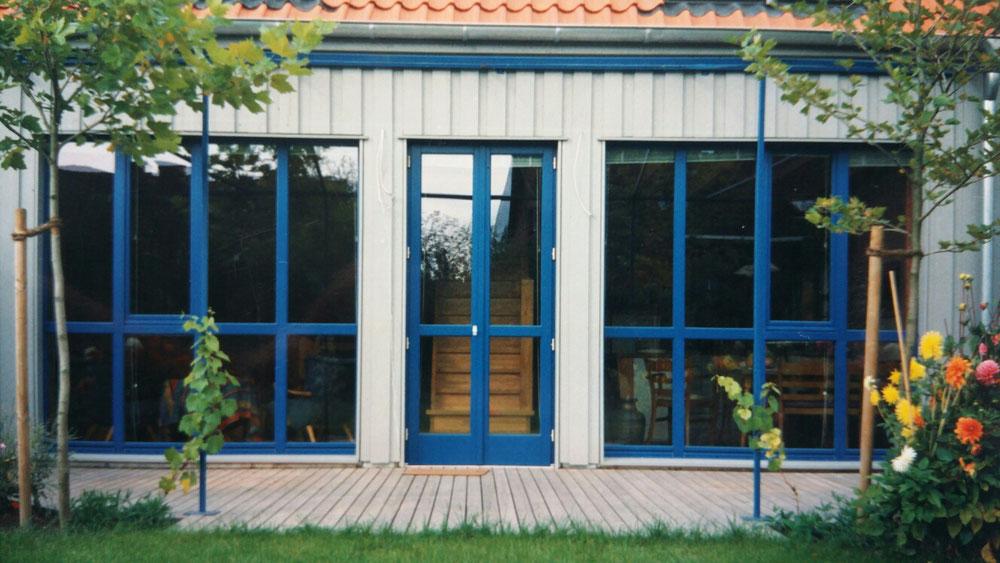 Gartenansicht von 1995