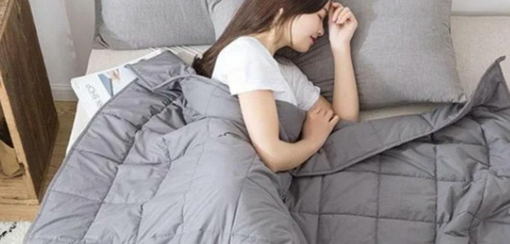 werkt een verzwaringsdeken bij slaap problemen