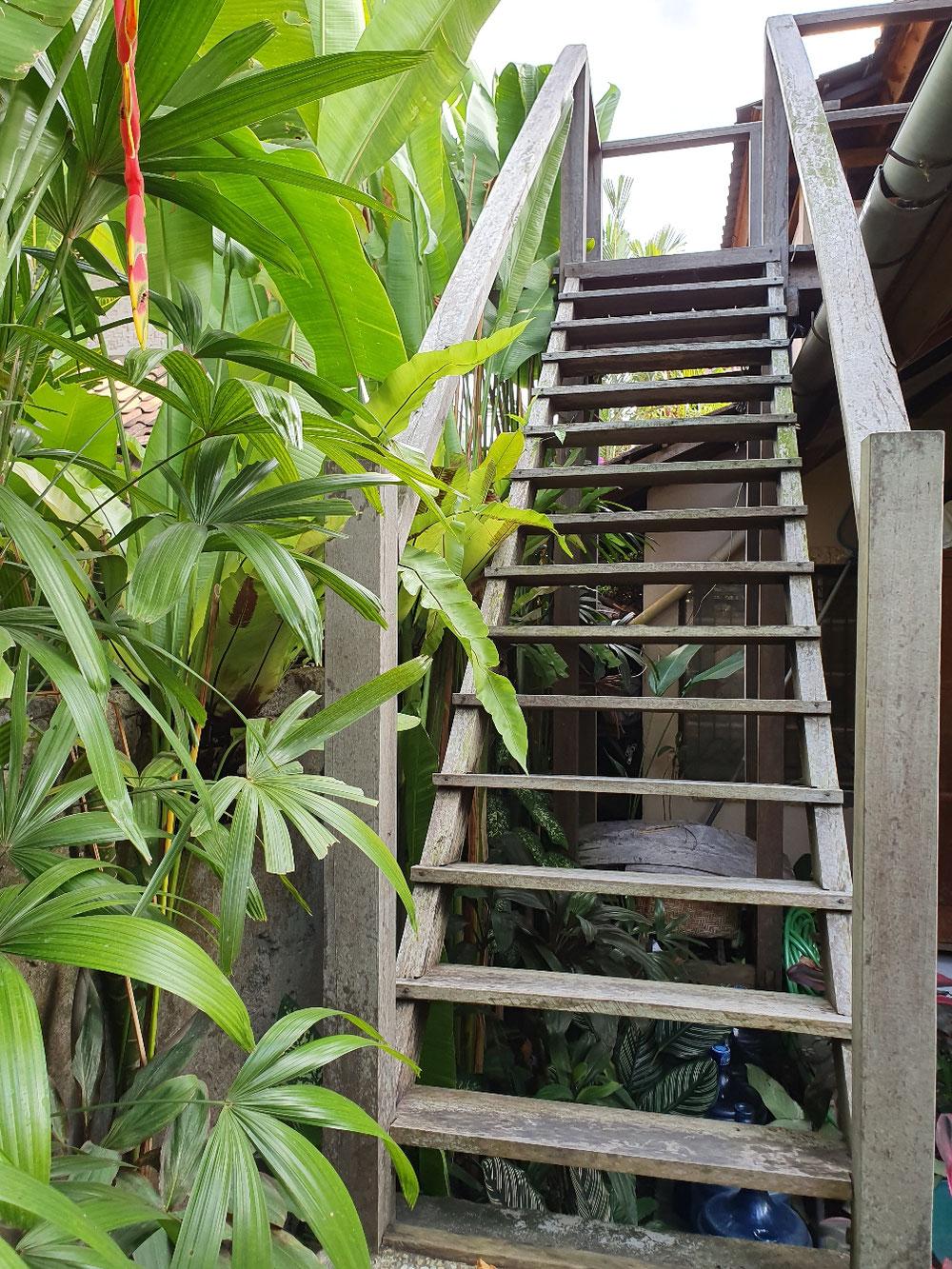 Die Außentreppe