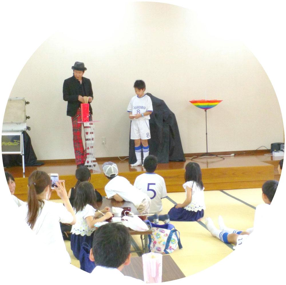 【ひだまり】フェスMr.ポテト🍟手品&バルーンアート