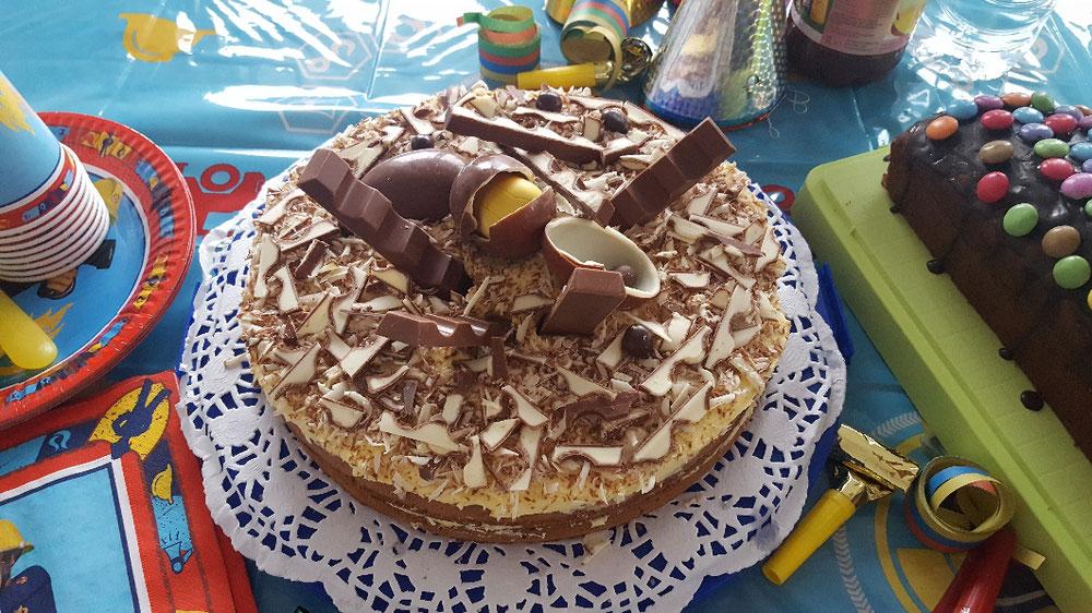 Zum Kindergeburtstag gehört der Kuchen einfach dazu.