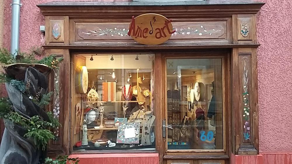 Boutique d'artisanat Âme d'art (12 rue de l'église)