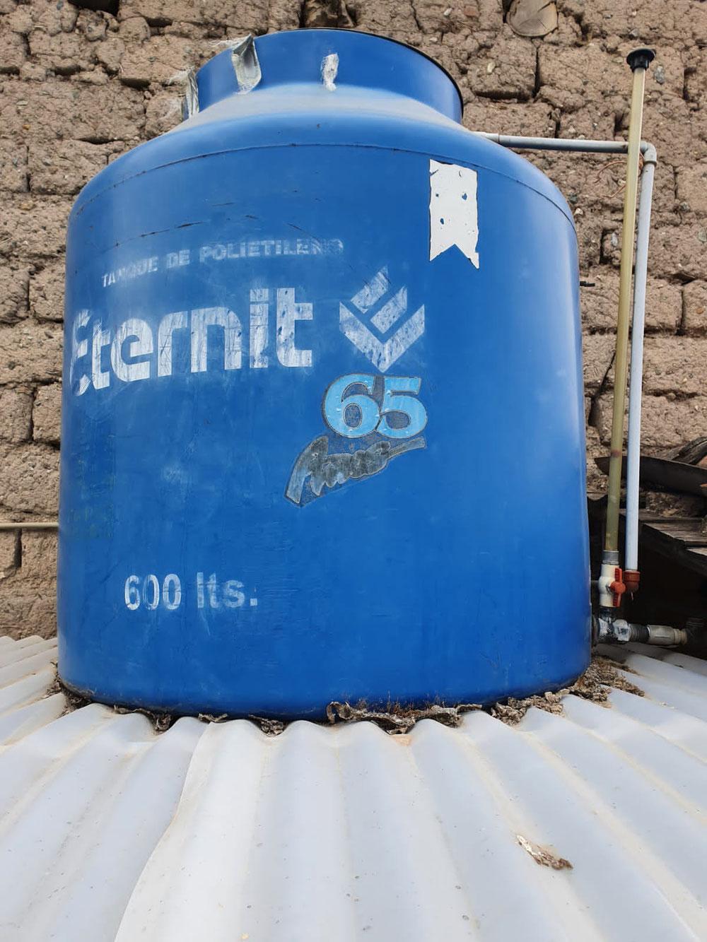 Unser 600 Liter Tank
