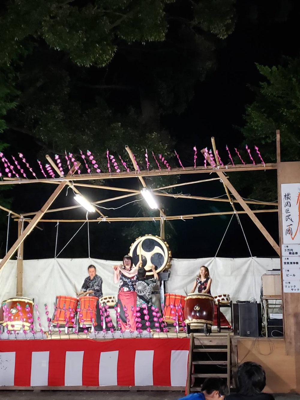 横岡八幡神社祭典